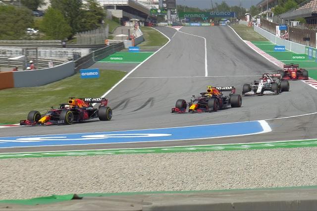 Red Bull y Checo sufren en los segundos libres del GP de España