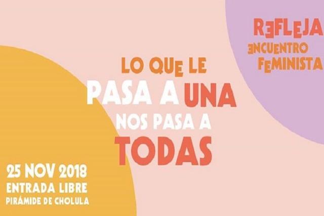 Encuentro feminista Refleja 2018 organiza campaña de fondeo