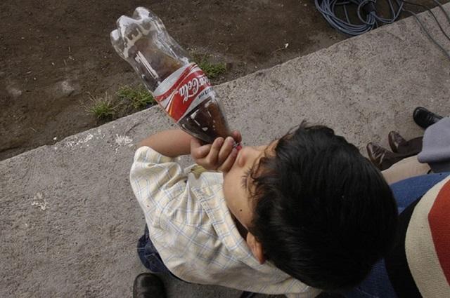 Queda prohibido dar refrescos a los niños en Oaxaca