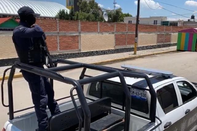 Ayuntamiento de Huejotzingo refuerza la seguridad pública