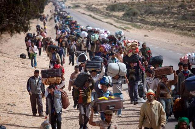 Austria y Alemania permitirán la entrada y el paso de refugiados