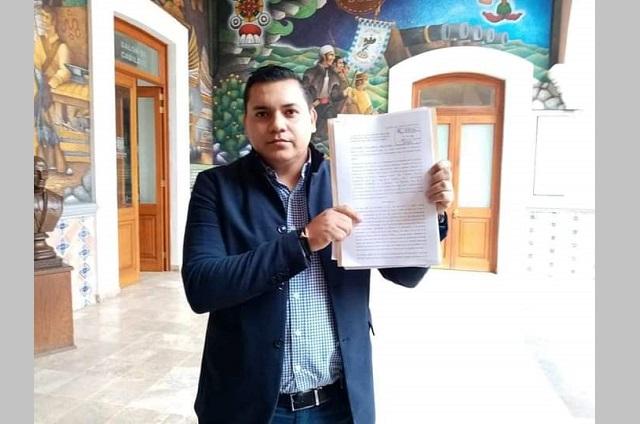 Piden destitución de Jaime Barbosa de la comuna de Tehuacán