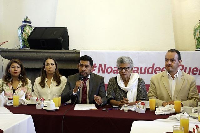 Atacarán corrupción en la capital advierten regidores de Morena
