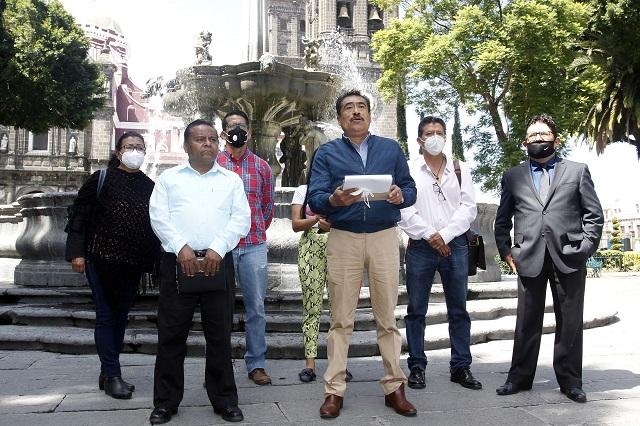 A punto de los golpes, alcalde y regidores de Lara Grajales