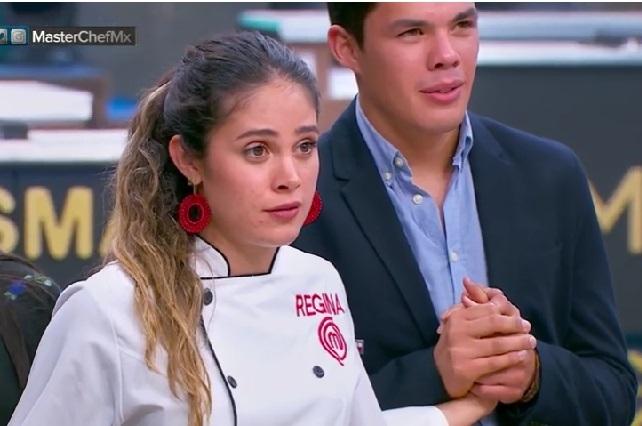 La cara de Regina al perder MasterChef México y lo que dijo
