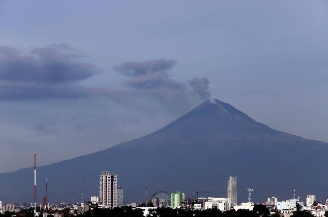 Registra el Popocatépetl un sismo volcanotectónico