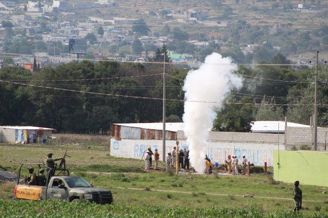 Fuga de gas en Tlahuelilpan, a dos años de la explosión de ductos