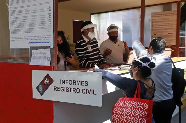 Registro Civil pone a disposición módulo virtual de información