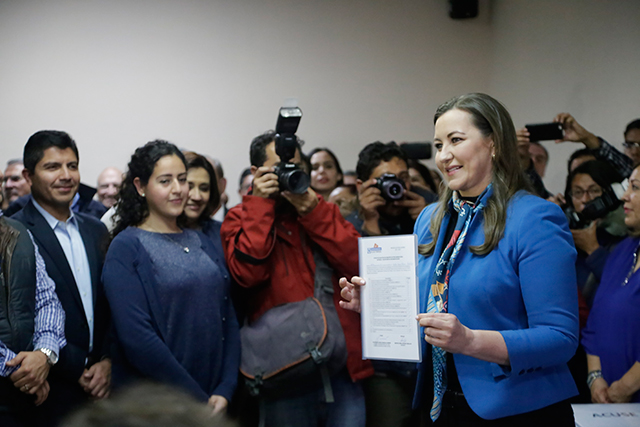 Avala CEN del PAN registro de Érika Alonso como precandidata