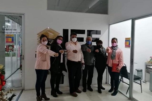 Registran primera planilla independiente en Tehuacán