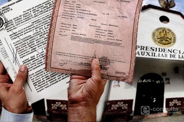 Reforma del registro civil excluye propuestas de ediles, acusan