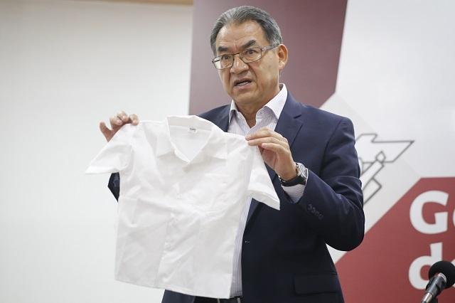 SEP no notificó a empresas por uniformes defectuosos