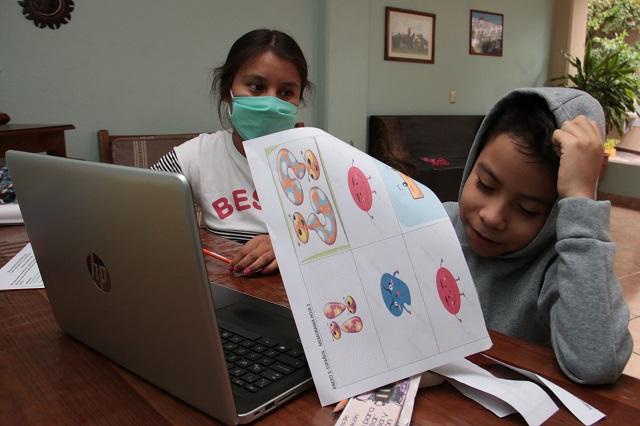 Abandonaron las clases a distancia 14 mil escolares al día en México