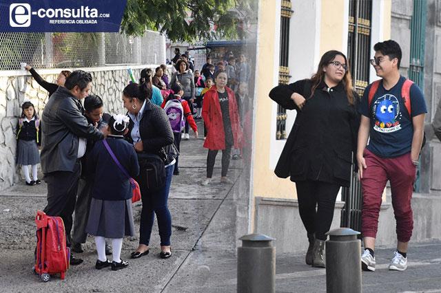 Regresan a las aulas en agosto alumnos de nivel básico de Puebla