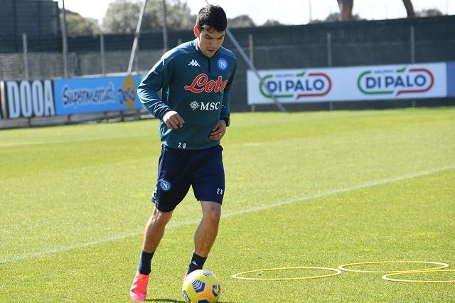 'Chucky' entrena al parejo y prepara su regreso ante el Milan