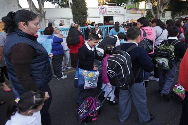 A clases 2 millones de alumnos desde el lunes 2 de enero: SEP