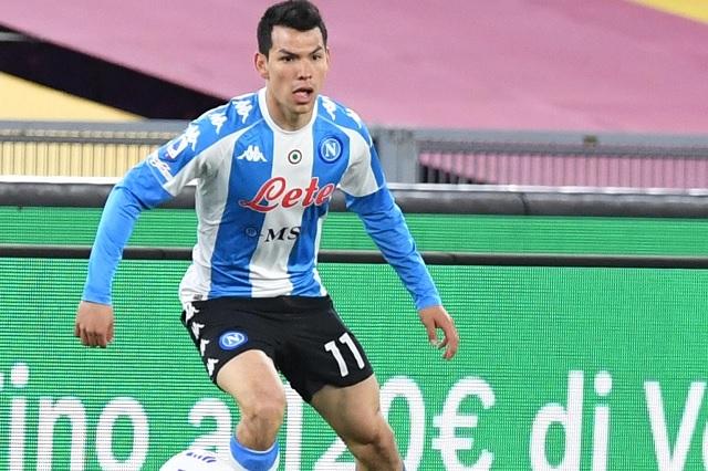 Reaparece Hirving Lozano en victoria de Napoli sobre la Roma