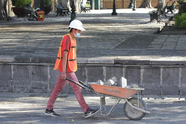 Por ley, la imagen del zócalo de Puebla es inalterable: Merlo