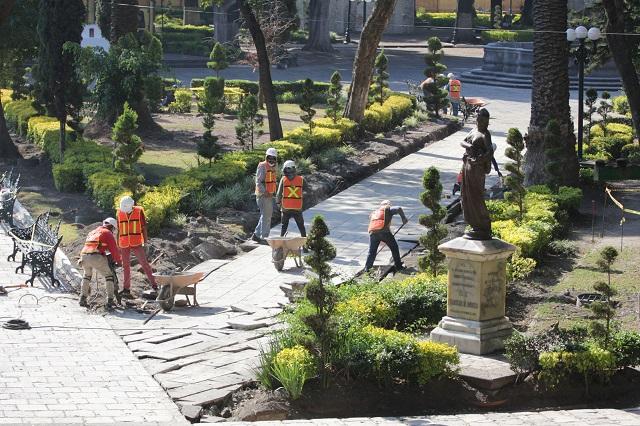 Se verificará legalidad de obras en el zócalo poblano: Barbosa
