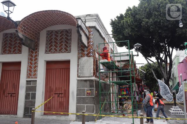 INAH va a clausurar obras de Rivera en El Parián, advierte Barbosa