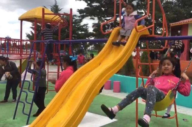 Rehabilitan Parque en Máximo Serdán, gobierno de Lara Grajales y SEDATU