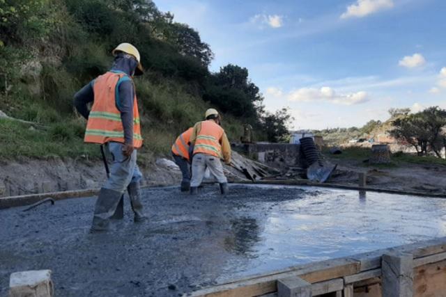 Agua de Puebla rehabilita el colector ramal 4 en el Alseseca