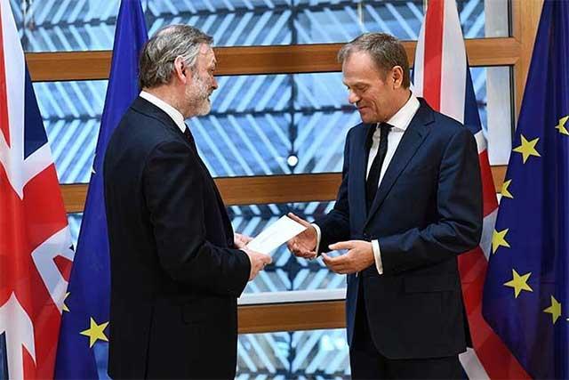 Reino Unido comienza los trámites para salir de la Unión Europea