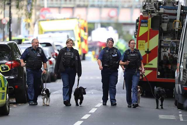 Reino Unido activa estado de alerta terrorista por explosión en el Metro