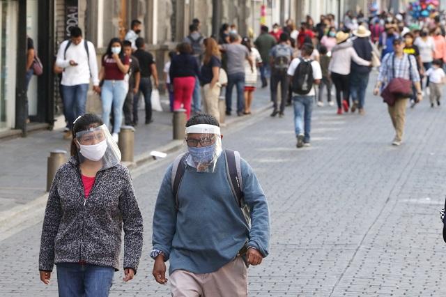Tras 2 semanas a la baja, casos de Covid-19 suben en Puebla
