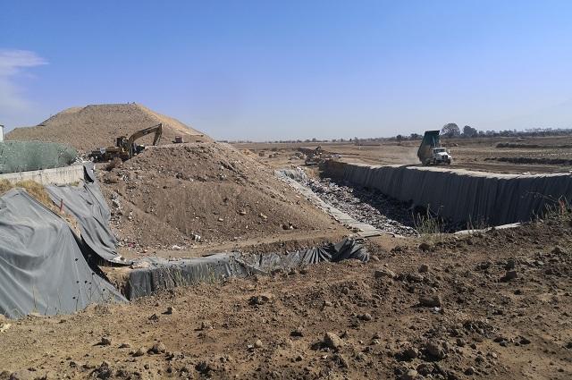 Sin avance fábrica de tratamiento de basura en Cholula