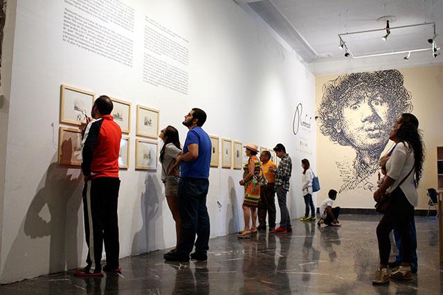 Grabados de Rembrandt se exponen en Galería de Arte de Palacio
