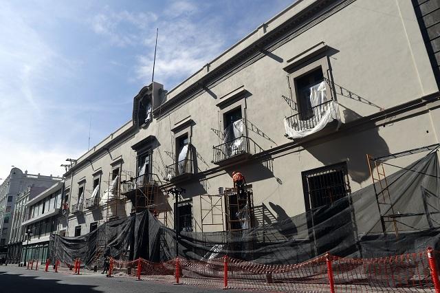 Rehabilitan 4 empresas edificios públicos en Puebla por 58.4 mdp