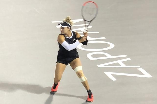 Renata Zarazúa avanza a siguiente ronda del Abierto de Zapopan