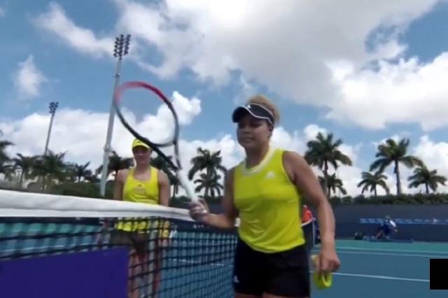 Angelique Kerber despide a la mexicana Renata Zarazúa del Miami Open