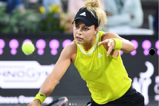 Renata Zarazúa es eliminada del torneo de Wimbledon