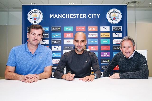 Pep Guardiola se queda en el City; lo renuevan hasta 2023