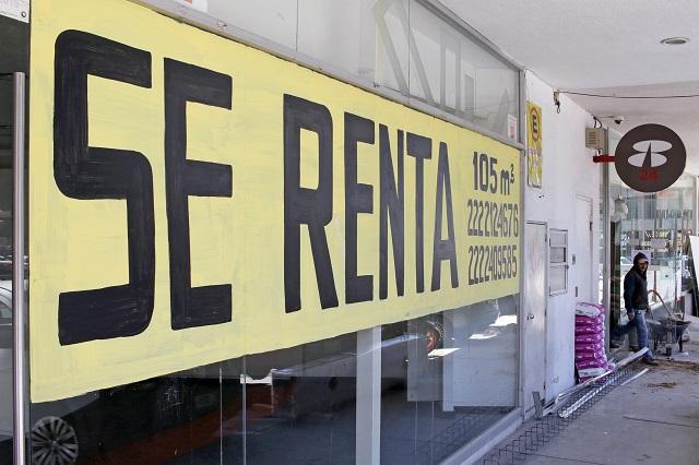 Cerraron 3 empresas formales al día en Puebla durante octubre
