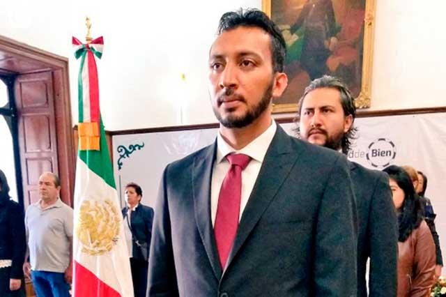 Mike Bricaire deja la Secretaria de Cultura de San Pedro Cholula