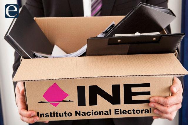 A días de la elección, renuncian más de 23 mil funcionarios de casilla