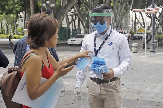 CCE propone sancionar a los que no usen cubreboca