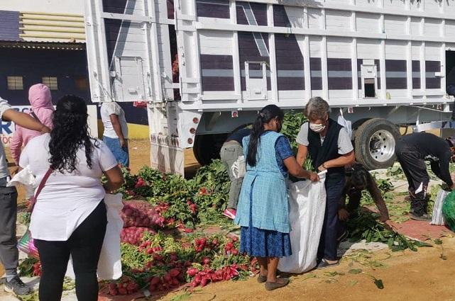 Impiden reparto de verduras de El Toñín en Cuautlancingo