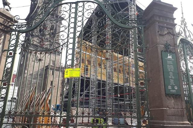 Suspende INAH obras en Puebla para instalar la Capilla Sixtina