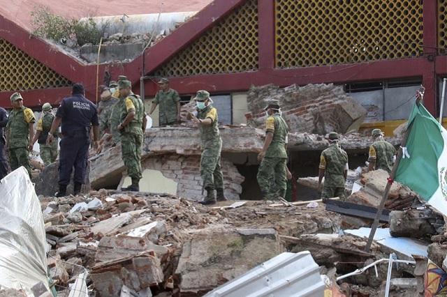 Sismológico reporta 20 mil réplicas del sismo de 8.2 del 7 de septiembre