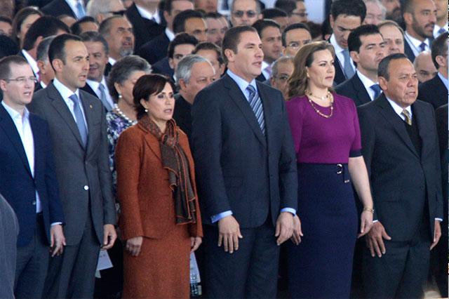 Rindió el gobernador Moreno Valle su V informe de gobierno