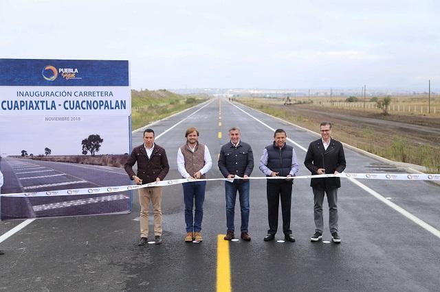 Reporta Gali lista la carretera Cuapiaxtla-Cuacnopalan