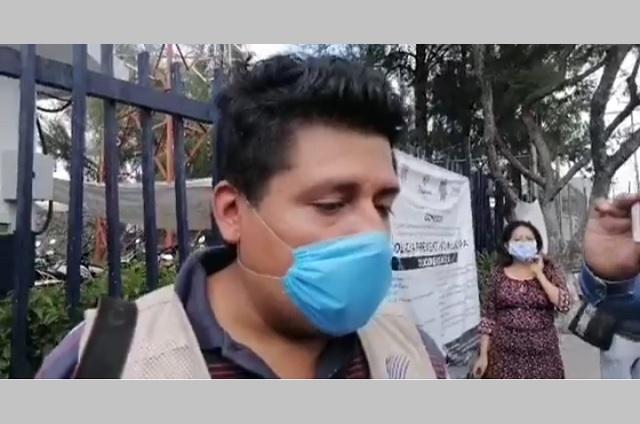 Detienen a reportero en Tehuacán y le borran material gráfico