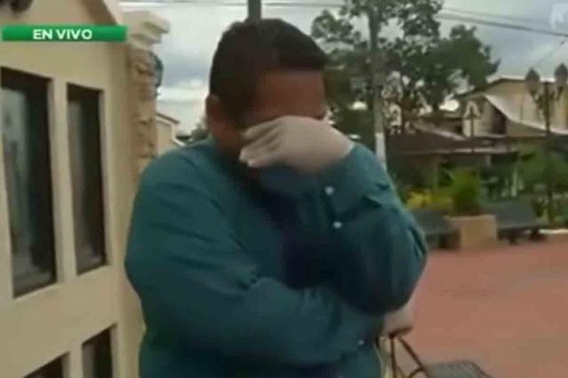 Reportero rompe en llanto al narrar la crisis vivida en Ecuador por Covid-19