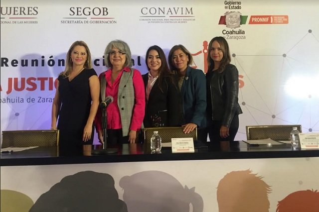 Representación del TSJ participa en Reunión de Unidades de Género