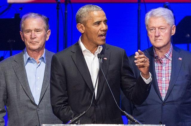 Obama, Clinton y Bush tomarían vacuna para poner el ejemplo