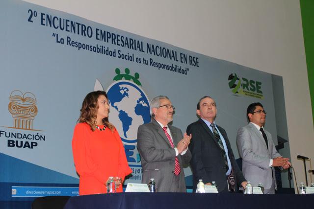 En BUAP, reunión nacional aborda Responsabilidad Social Empresarial